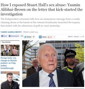 stuart hall is a peadophile